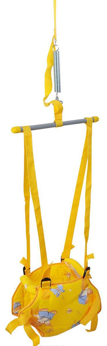 Тренажер Фея Прыгунки 2 в 1, цвет: желтый5463п_желтый