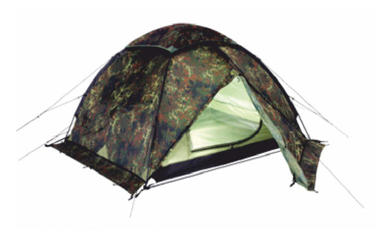Палатка Talberg HUNTER PRO 4, цвет: камуфляжныйУТ-000059421Палатка Talberg Hunter Pro 4 - профессиональная палатка камуфляжной расцветки, рассчитанная на четверых. Модель двухслойная, имеет два тамбура, идеально подойдет для походов весной, летом и осенью. Высококачественные дуги из алюминиево-магниевого сплава марки 7001 T6 практически не имеют остаточных деформаций и в состоянии выдержать любую непогоду. Два входа обеспечивают превосходную вентиляцию и комфортный сон в теплое время года. Данная модель имеет ветрозащитную юбку для большего комфорта отдыхающих. Также она оборудована высококачественной противомоскитной сеткой, способной защитить даже от самой мелкой мошки. Все швы палатки проклеены специальной термоусадочной лентой, которая надежно защищает палатку от протеканий. Состав материала: полиэстер, алюминий