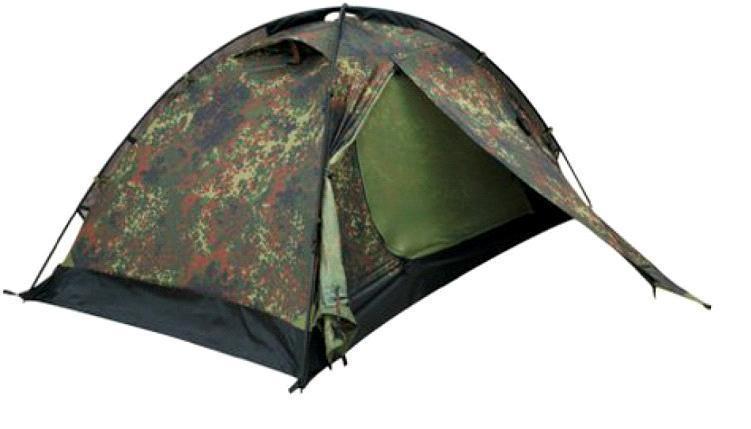 Палатка Talberg CAMO PRO 2, цвет: камуфляжныйУТ-000059411Легкая двухслойная одноместная палатка для велосипедных и пеших походов. Туристическая линия Talberg. Палатки Talberg Туристической линии были специально разработаны для походов в весеннее, летнее и осеннее время. В палатках этой серии используются материалы и конструкции, которые позволяют комфортно провести теплую летнюю ночь или переждать серьезную непогоду с сильным ветром и осадками. Состав материала: полиэстер, алюминий