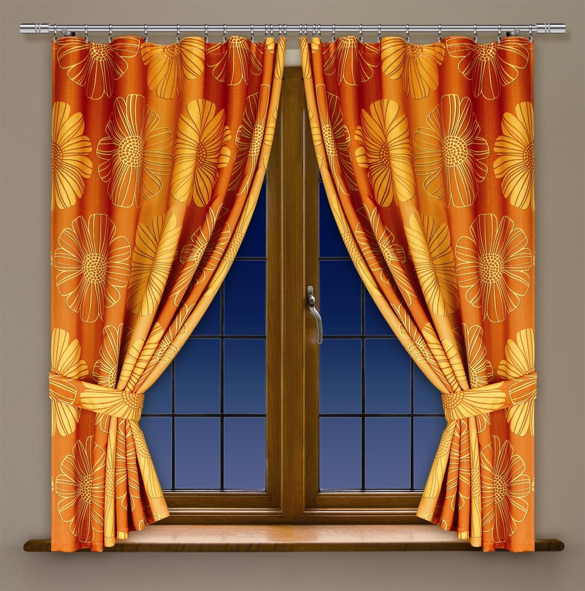 Комплект шторд для кухни HAFT 170*160*2. 201492/170201492/170Комплект шторд для кухни XAFT 170*160*2. 201492/170 Материал: 100% п/э, размер: 170*160*2, цвет: оранжевый