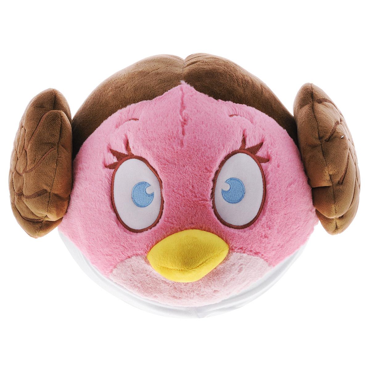 Мягкая игрушка Angry Birds Star Wars Принцесса Лея, цвет: розовый, 25 см94065Мягкая игрушка Angry Birds Star Wars Принцесса Лея - плюшевая версия героини новой игры о приключениях Сердитых птиц. Розовая птица-девочка в роли принцессы Альдераана, несмотря на весь свой романтический образ, обязательно поможет вернуть свободу Галактике! Игрушка замечательно подойдет в качестве подарка как для детей, так и для взрослых.