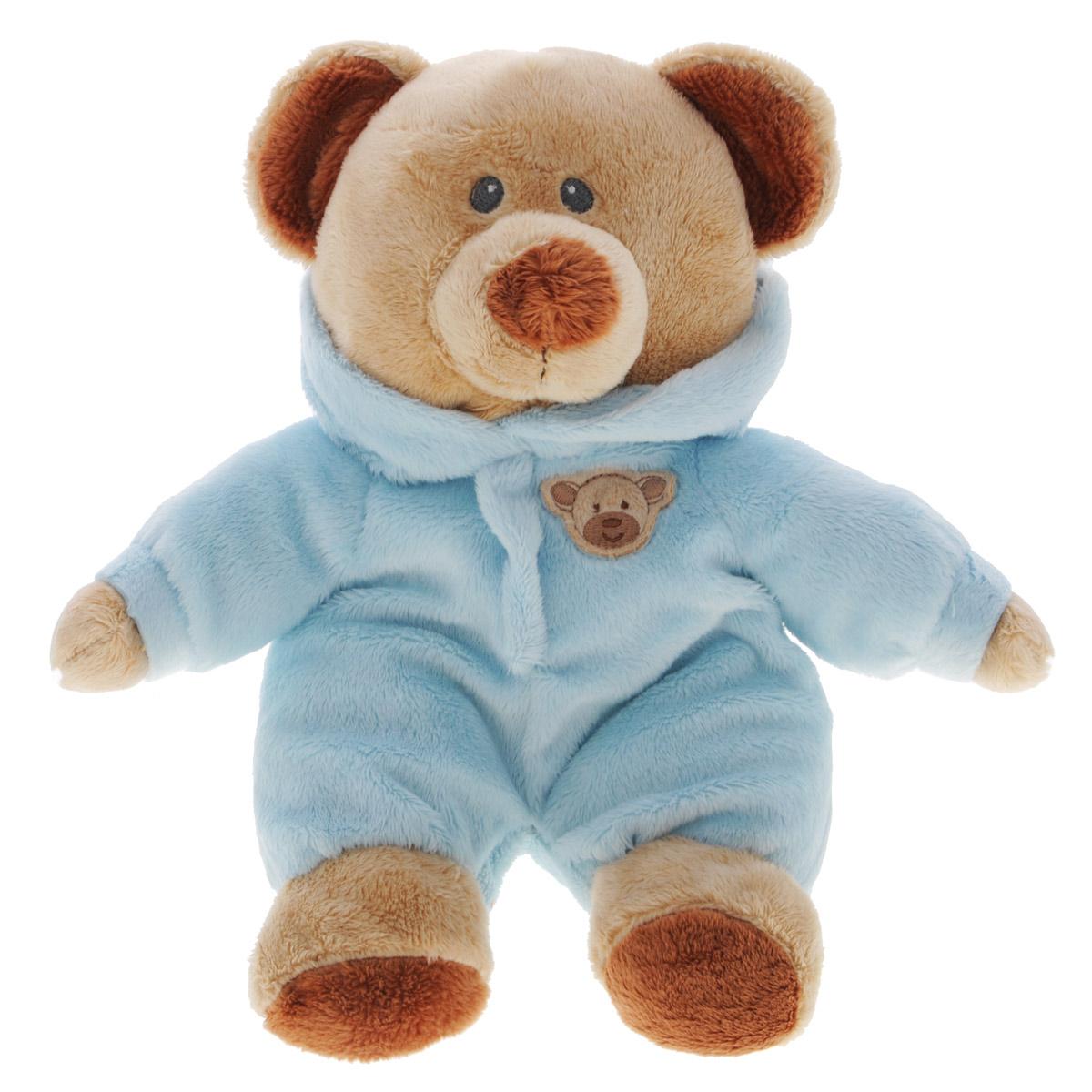 Мягкая игрушка TY Медведь в голубом комбинезоне, 25 см32130Игрушка выполнена в виде милого мишки в голубом комбинезоне. Его глазки вышиты нитками. Оригинальная мягкая игрушка способна развеселить как ребенка, так и взрослого. Внешний вид игрушки продуман до мелочей, и она идеально вписывается в задуманный образ. Игрушка невероятно мягкая и приятная на ощупь, вам не захочется выпускать ее из рук. Специальные гранулы, используемые при ее набивке, способствуют развитию мелкой моторики рук малыша.
