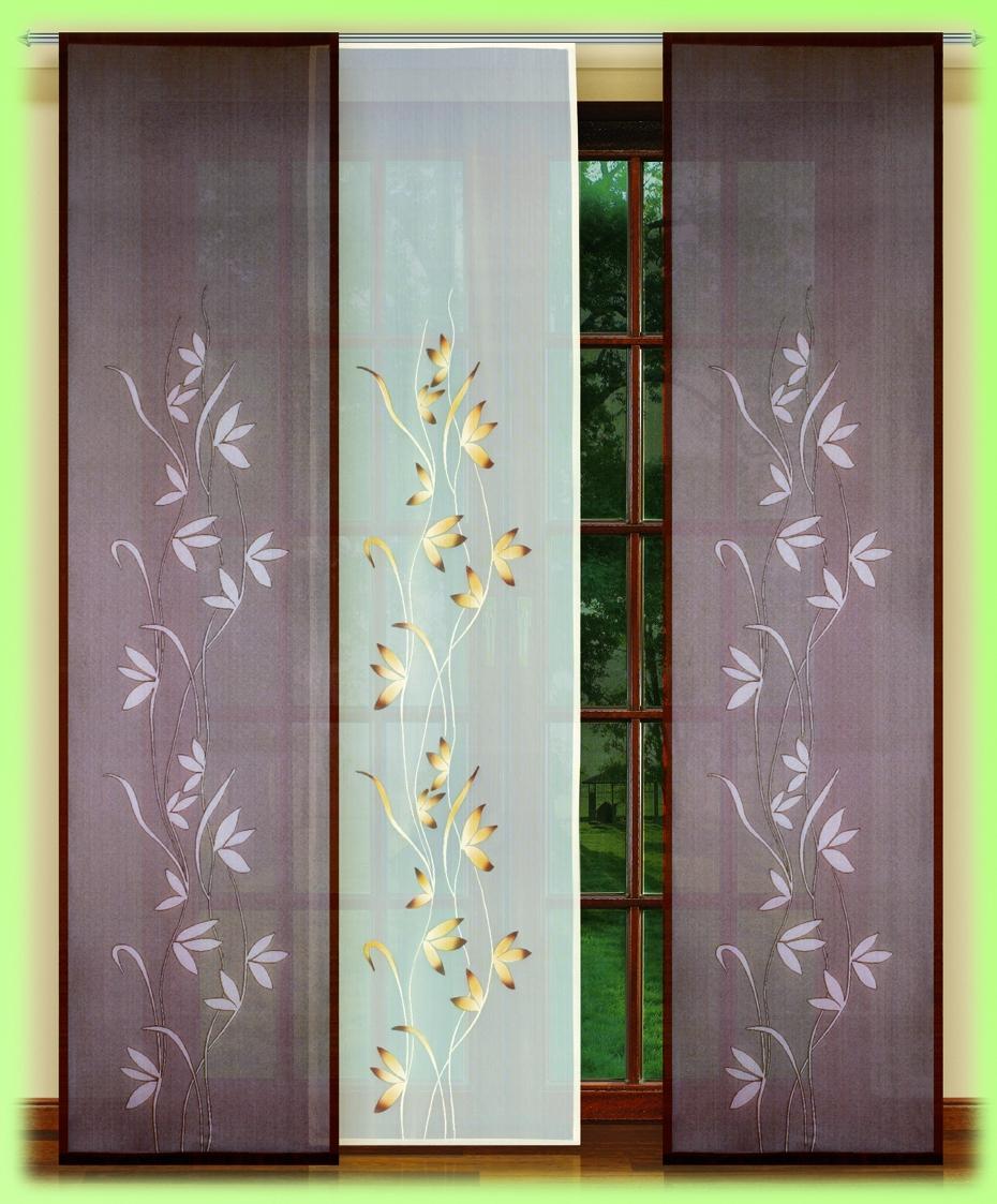 Гардина HAFT 250*60*3. 54152/25054152/250Гардина XAFT 250*60*3. 54152/250 Материал: 100% п/э, размер: 250*60*3, цвет: крем/коричневый