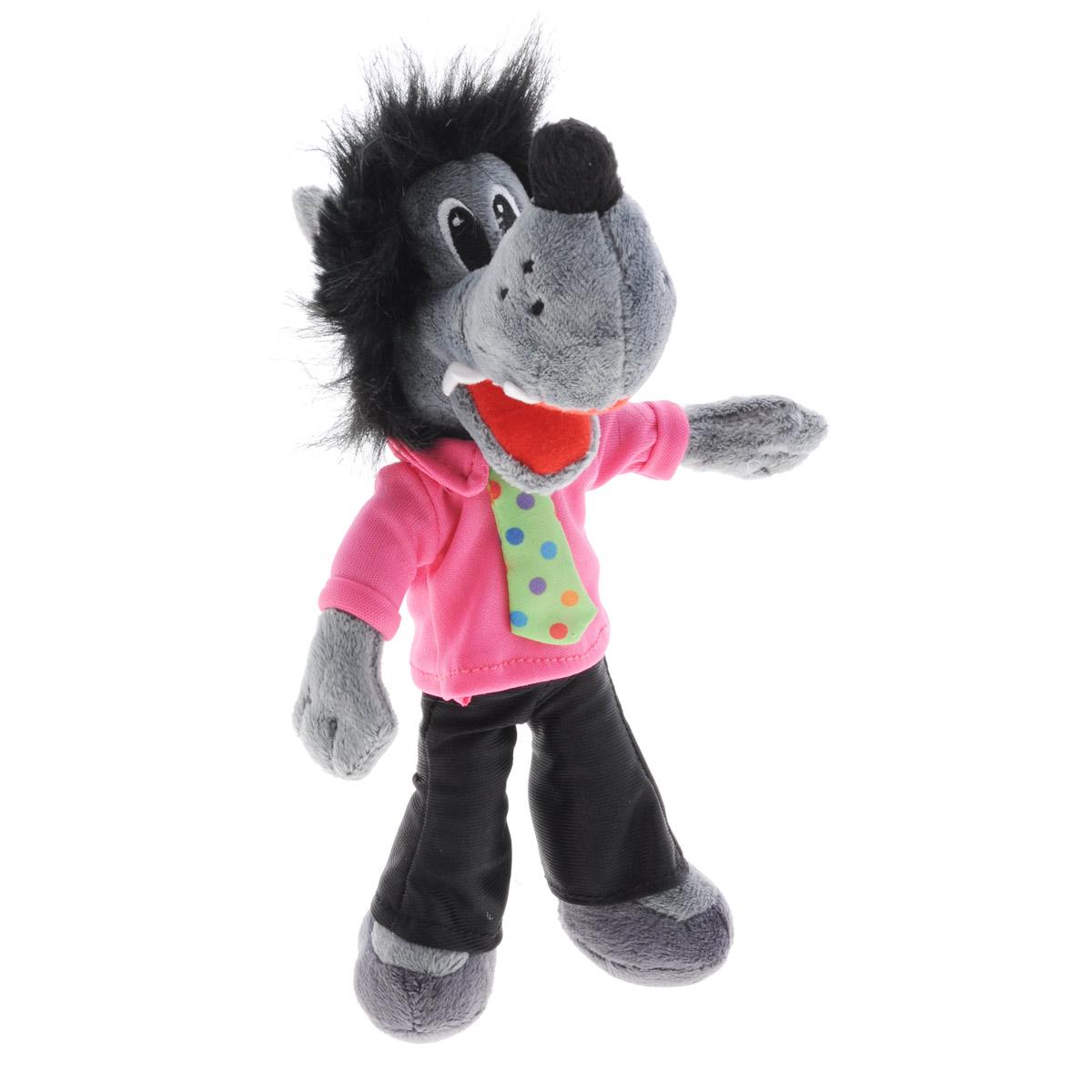 Мягкая игрушка Ну, погоди! Волк, 22 см развивающая игрушка 1toy ну погоди 1toy ну погоди музыкальные инструменты в барабане