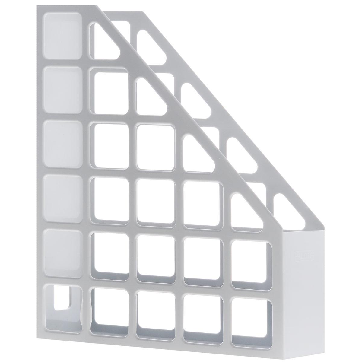 Файл угловой Proff Style, цвет: серый. Формат A4PLV01-05Файл угловой Proff Style, изготовленный из прочного пластика, это незаменимая вещь для хранения документов в вашем кабинете. Это удобный и практичный офисный инструмент, предназначенный для хранения рабочих бумаг и документов формата А4. Изделие оформлено перфорацией в форме квадратов. Такой файл надежно сохранит ваши документы и сбережет их от повреждений.