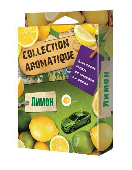 Ароматизатор воздуха CA-13 (Лимон) под сиденье 200 мл Collection AromatiqueCA-13Ароматизатор воздуха CA-13 (Лимон) под сиденье 200 мл Collection Aromatique