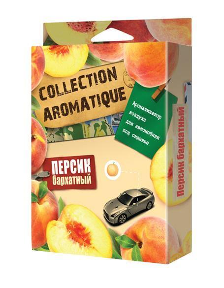 Ароматизатор воздуха CA-16 (Персик бархатный) под сиденье 200 мл Collection AromatiqueCA-16Ароматизатор воздуха CA-16 (Персик бархатный) под сиденье 200 мл Collection Aromatique
