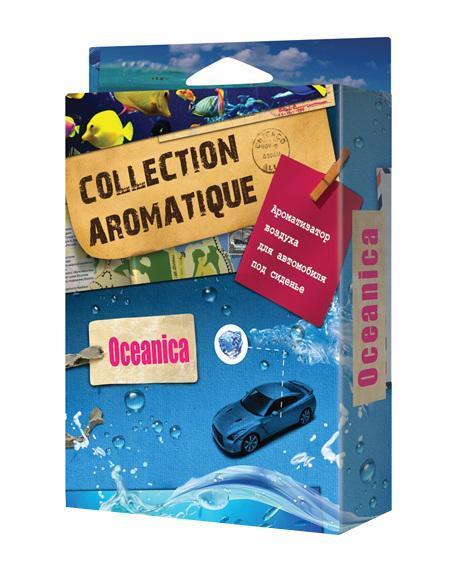 Ароматизатор воздуха CA-14 (Oceanica) под сиденье 200 мл Collection AromatiqueCA-14Ароматизатор воздуха CA-14 (Oceanica) под сиденье 200 мл Collection Aromatique