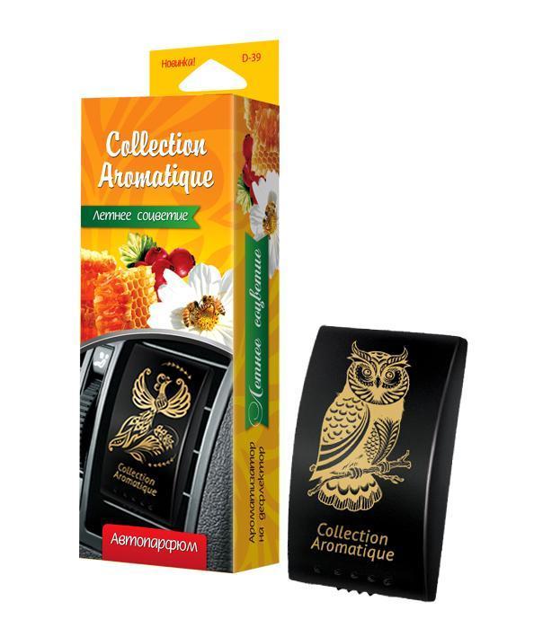 Аромат Летнее соцветие D-39 на дефлектор Дороги мира серии Collection Aromatique, box, 1/20
