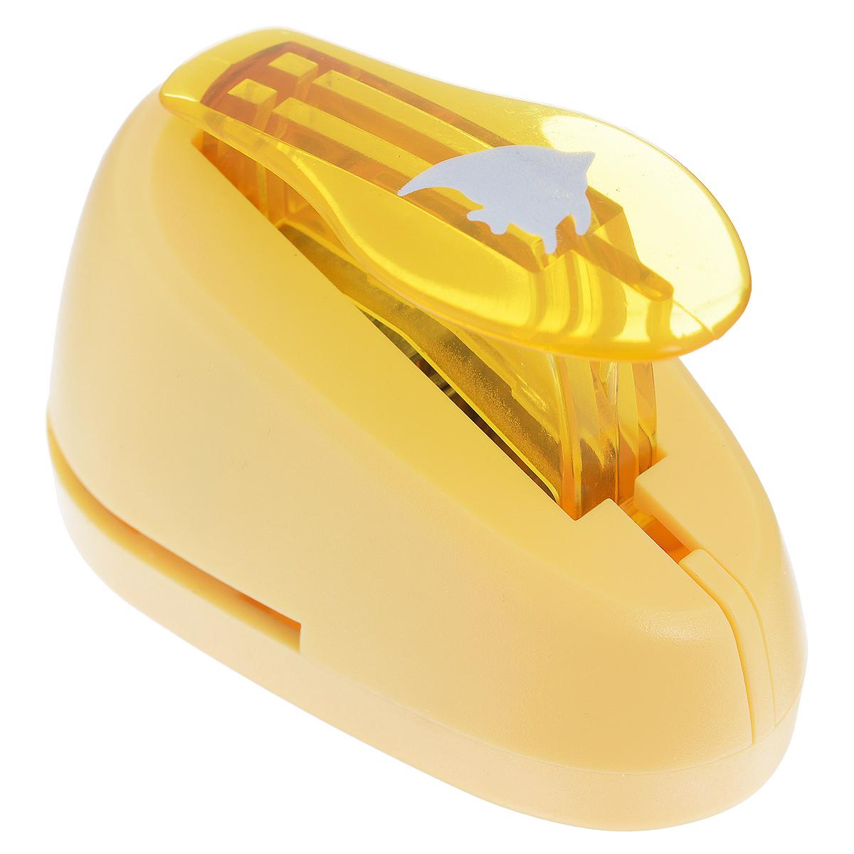 Дырокол фигурный Астра Рыбка. CD-99S7709603_90Дырокол Астра Рыбка поможет вам легко, просто и аккуратно вырезать много одинаковых мелких фигурок. Режущие части компостера закрыты пластмассовым корпусом, что обеспечивает безопасность для детей. Вырезанные фигурки накапливаются в специальном резервуаре. Можно использовать вырезанные мотивы как конфетти или для наклеивания. Дырокол подходит для разных техник: декупажа, скрапбукинга, декорирования. Размер дырокола: 7 см х 4 см х 5 см. Размер готовой фигурки: 1 см х 1,3 см.