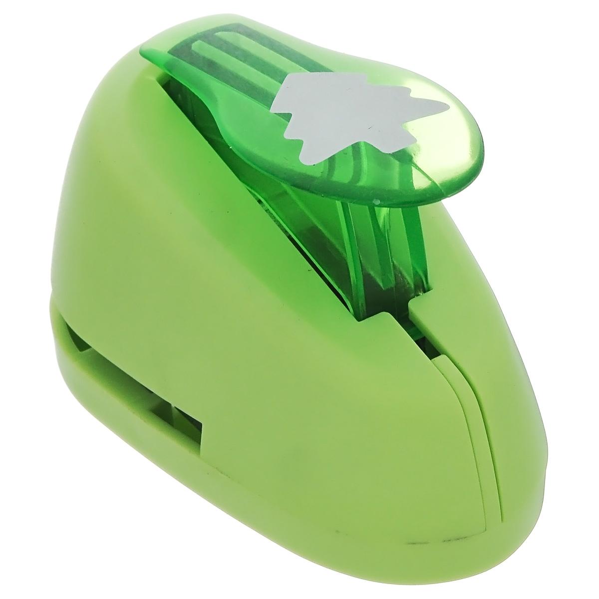 Дырокол фигурный Астра Елочка. 7709605_267709605_26 - елочкаДырокол Астра Елочка, изготовленный из прочного металла и пластика, поможет вам легко, просто и аккуратно вырезать много одинаковых мелких фигурок. Режущие части компостера закрыты пластиковым корпусом, что обеспечивает безопасность для детей. Вырезанные фигурки в виде елочек накапливаются в специальном резервуаре. Можно использовать вырезанные мотивы как конфетти или для наклеивания. Дырокол подходит для разных техник: декупажа, скрапбукинга, декорирования. Размер дырокола: 8 см х 5 см х 5 см. Размер готовой фигурки: 2 см х 2 см.