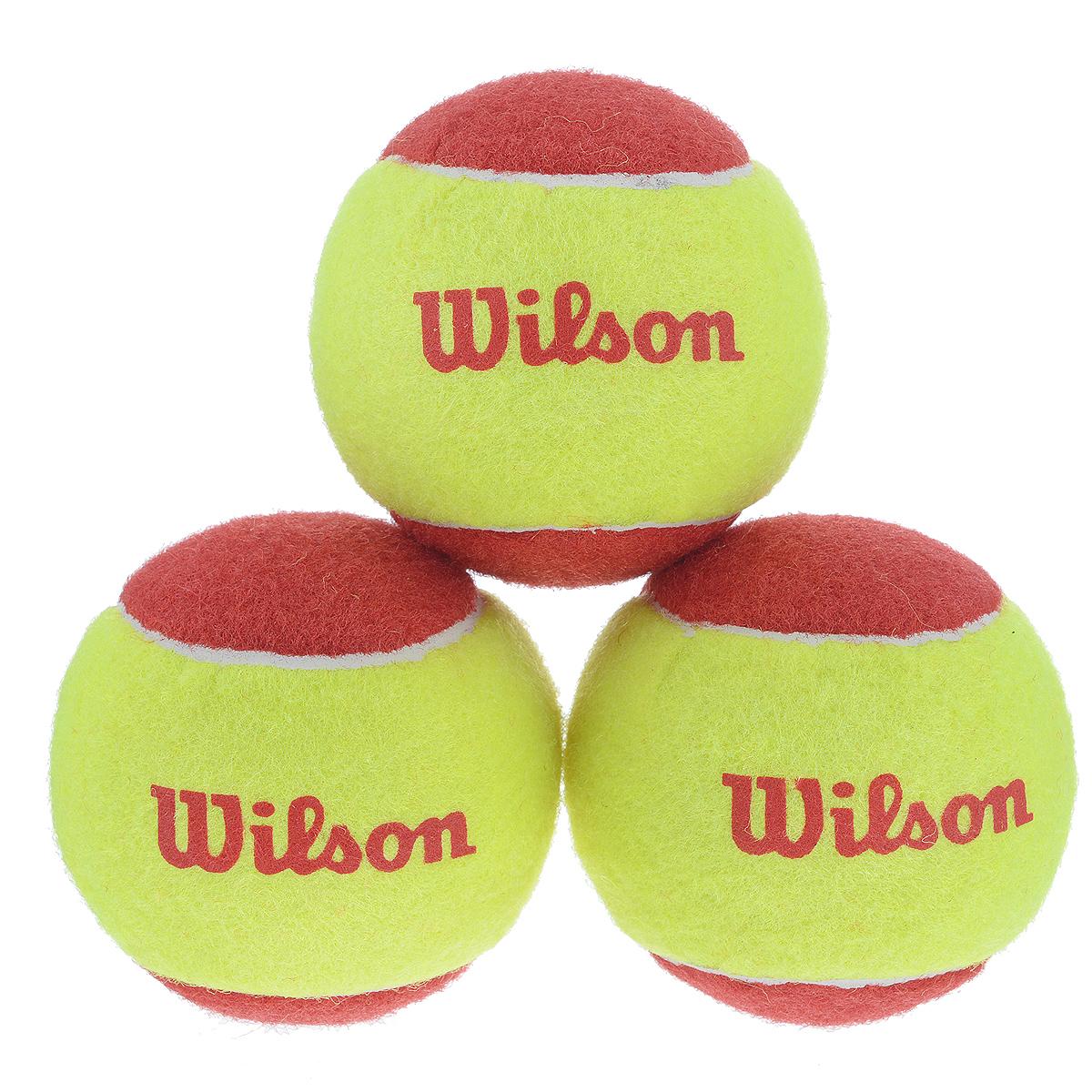 "Wilson Мячи теннисные Wilson ""Starter Red"", 3 шт"