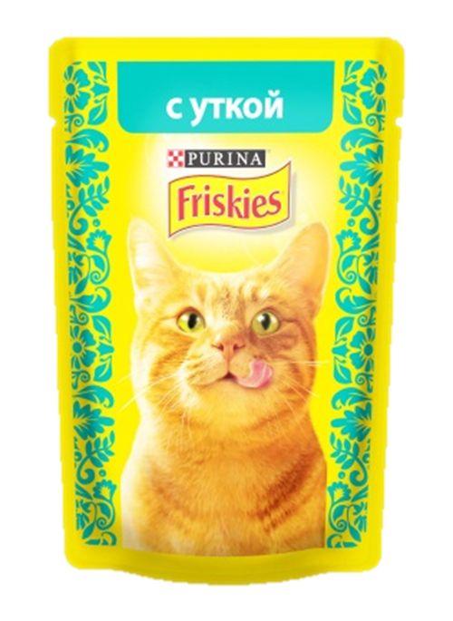 Консервы для кошек Friskies, с уткой, 85 г12261815Консервы для кошек Friskies приготовлены из тщательно отобранных ингредиентов для того, чтобы ваша кошка получала только лучшее. Консервы содержат качественный белок, витамины, минералы и другие вкусные и полезные компоненты. Такой корм является полнорационным и сбалансированным питанием на каждый день. Корм Friskies специально приготовлен, чтобы обеспечивать вашу кошку основными питательными веществами для поддержания ее здоровья и счастья каждый день. Состав: мясо и продукты переработки мяса (из которых утки 4%), злаки, минеральные вещества, сахара, витамины. Пищевая ценность: влага 84%, белок 6,5%, жир 2,5%, сырая зола 2%, сырая клетчатка 0,1%, линолевая кислота (омега 6 жирные кислоты) 0,4%. Добавки: витамин А 620 МЕ/кг, витамин D3 90 МЕ/кг, железо 7,2 мг/кг, йод 0,18 мг/кг, медь 0,6 мг/кг, марганец 1,4 мг/кг, цинк 13 мг/кг, таурин 390 мг/кг. Товар сертифицирован.