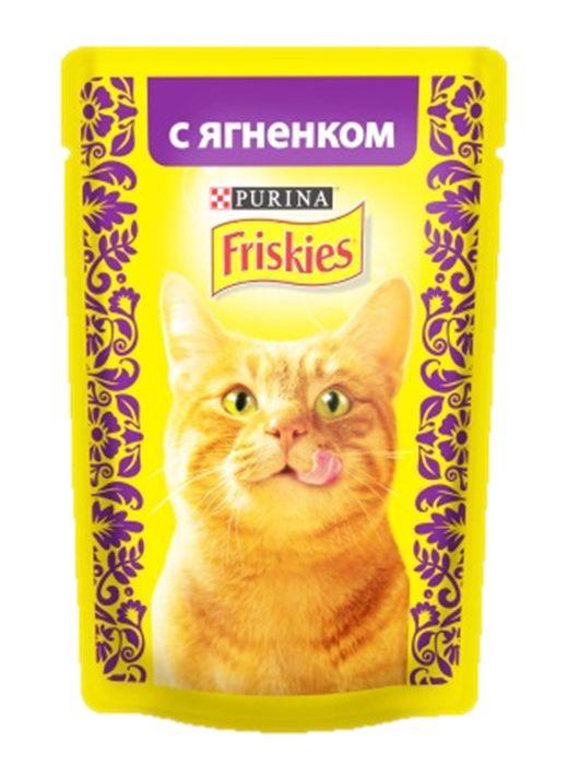 Консервы для кошек Friskies Adult, с ягненком, 85 г12261837Friskies - 100% полнорационный, сбалансированный вкусный корм, вдохновленный опытом Purina в сфере производства кормов для животных. Корм Friskies специально приготовлен, чтобы обеспечивать Вашу кошку основными питательными веществами для поддержания ее здоровья и счастья каждый день. Состав: мясо и продукты переработки мяса (из которых ягненка 4%), злаки, минеральные вещества, сахара, витамины. Добавки: витамин А 620 МЕ/кг, витамин D3 90 МЕ/кг, железо 7,2 мг/кг, йод 0,18 мг/кг, медь 0,6 мг/кг, марганец 1,4 мг/кг, цинк 13 мг/кг, таурин 390 мг/кг. Товар сертифицирован.