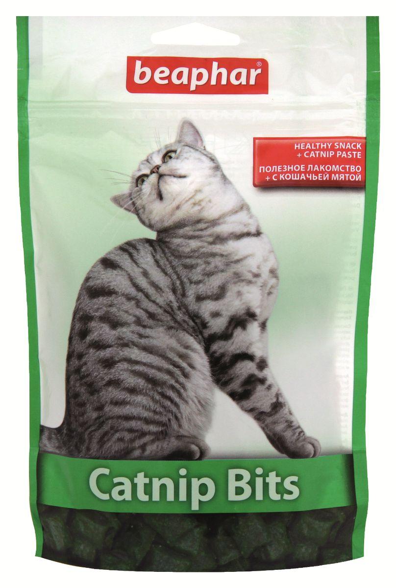 Лакомство для кошек Beaphar Catnip Bits, с кошачьей мятой, 150 г13173Лакомство с экстрактом кошачьей мяты Beaphar Catnip Bits предназначено для кошек и котят. Полезные и вкусные хрустящие подушечки, наполненные пастой из кошачьей мяты, содержат витамины и минералы, необходимые для поддержания здоровья и жизненной активности кошки. Рекомендуемая дозировка: 5-10 штук в день. Состав: злаки, продукты растительного происхождения (кошачья мята 0,12%), молоко и молочные субпродукты, масла и жиры, мясо и субпродукты животного происхождения, дрожжи. Анализ: протеин 31%, клетчатка 2,8%, масла и жиры 10%, зола 3,4%, влажность 9%, кальций 0,14%, фосфор 0,62%, натрий 0,18%, калий 0,53%, магний 0,13%. Вес упаковки: 150 г. Товар сертифицирован.