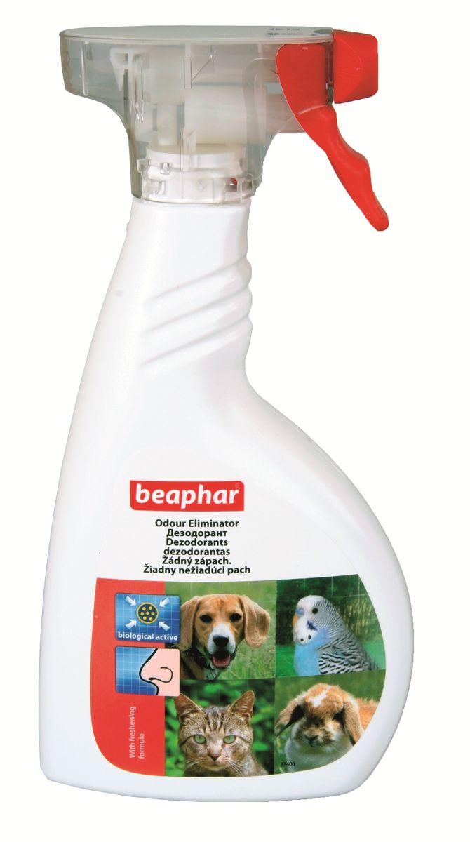 Дезодорант для уничтожения запаха Beaphar Odour Eliminator, 400 мл13211Спрей Beaphar Odour Eliminator предназначен для уничтожения биологических пятен и неприятных запахов, вызванных животными в помещении (запах псины, запах испражнений, другие неприятные запахи). Содержит бактерии, которые надежно связывают ферменты неприятного запаха и придают воздуху легкий цветочный аромат. Состав продукта: раствор спор палочковидных бактерий, биоразлагаемых поверхностно-активных веществ и ароматизатора, вода деминерализованная. Способ применения: перед применением хорошо встряхните. Обильно распылите на поверхности пятна. Оставьте препарат действовать в течение нескольких минут. Удалите грязь с помощью ткани или губки и хорошо протрите слегка влажной тканью. Устранение трудноудаляемых или старых пятен может потребовать повторного применения. Объем: 400 мл. Товар сертифицирован.