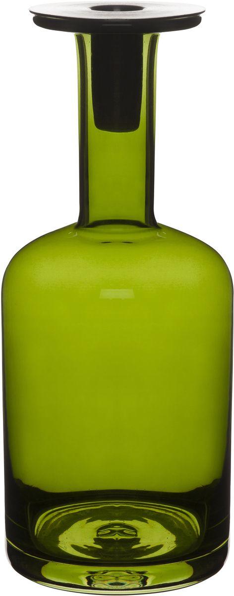"""Подсвечник """"Sagaform"""", цвет: зеленый, высота 25 см"""