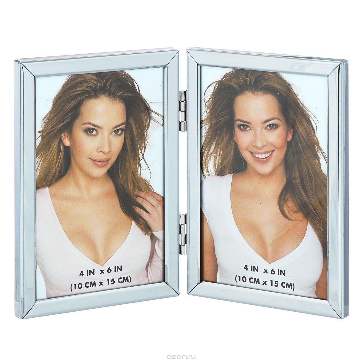 Фоторамка Image Art 6025/2-4S6025/2-4SФоторамка Image Art - прекрасный способ красиво оформить ваши фотографии. Изделие рассчитано на 2 фотографии. Фоторамка выполнена из металла и защищена стеклом. Фоторамку можно поставить на стол или подвесить на стену, для чего с задней стороны предусмотрены специальные отверстия. Такая фоторамка поможет сохранить на память самые яркие моменты вашей жизни, а стильный дизайн сделает ее прекрасным дополнением интерьера.