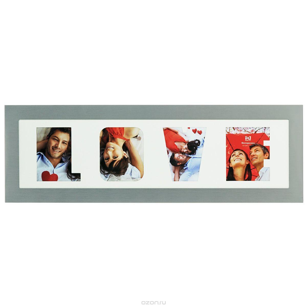 Фоторамка Image Art 6028/4-4S6028/4-4SФоторамка Image Art - прекрасный способ красиво оформить ваши фотографии. Изделие рассчитано на 2 фотографии. Фоторамка выполнена из металла и защищена стеклом. Фоторамку можно поставить на стол или подвесить на стену, для чего с задней стороны предусмотрены специальные отверстия. Такая фоторамка поможет сохранить на память самые яркие моменты вашей жизни, а стильный дизайн сделает ее прекрасным дополнением интерьера.