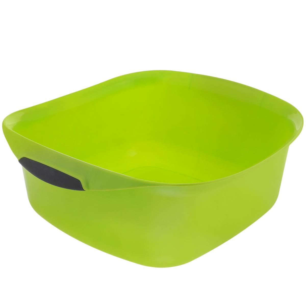 Таз Curver Urban, цвет: салатовый, 10 л2337_ салатовыйТаз Curver Urban изготовлен из высококачественного пластика. Удобен для различных бытовых нужд. По бокам оснащен ручками. Размер таза: 35 см х 35 см. Высота стенки: 13 см.