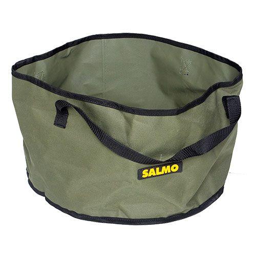 Емкость для прикормки Salmo, цвет: хаки, 25 л1953Вместительная емкость Salmo предназначена для замешивания прикормки. Выполнена из прочного нейлона. Емкость оснащена ручками для удобства транспортировки. В сложенном виде занимает мало места.