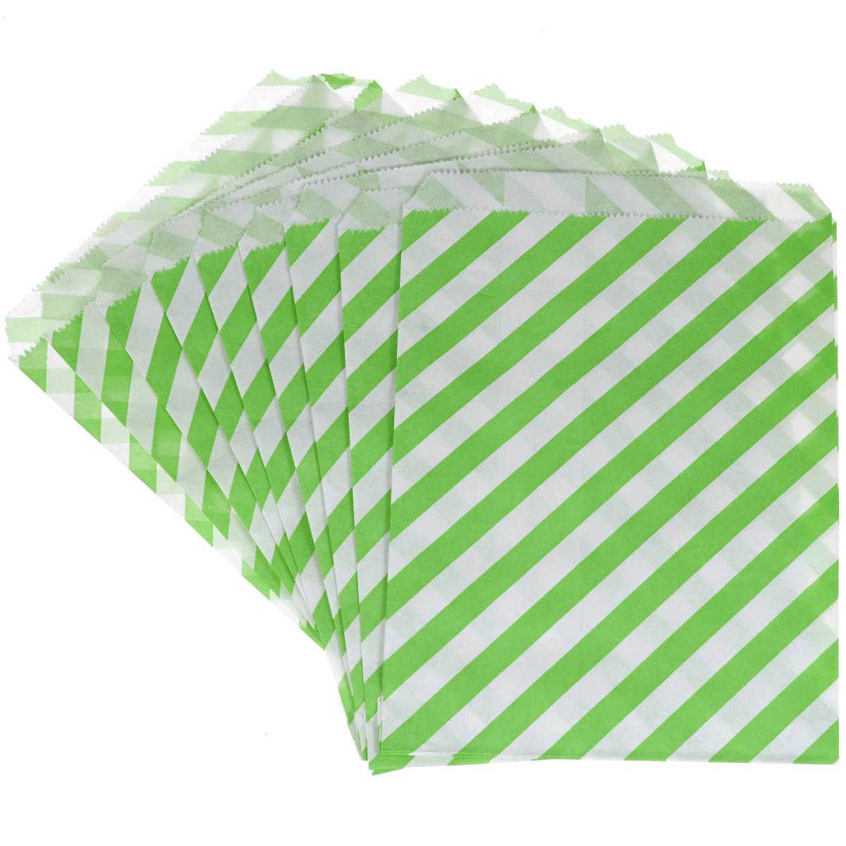 Пакеты бумажные Dolce Arti Rayet, для выпекания, цвет: зеленый, 10 штDA040201Бумажные пакеты Dolce Arti Rayet очень многофункциональны. Их можно использовать насколько хватит вашей фантазии: для выпекания, для упаковки маленьких подарков, сладостей и многого другого. Размер: 13 см х 18 см.