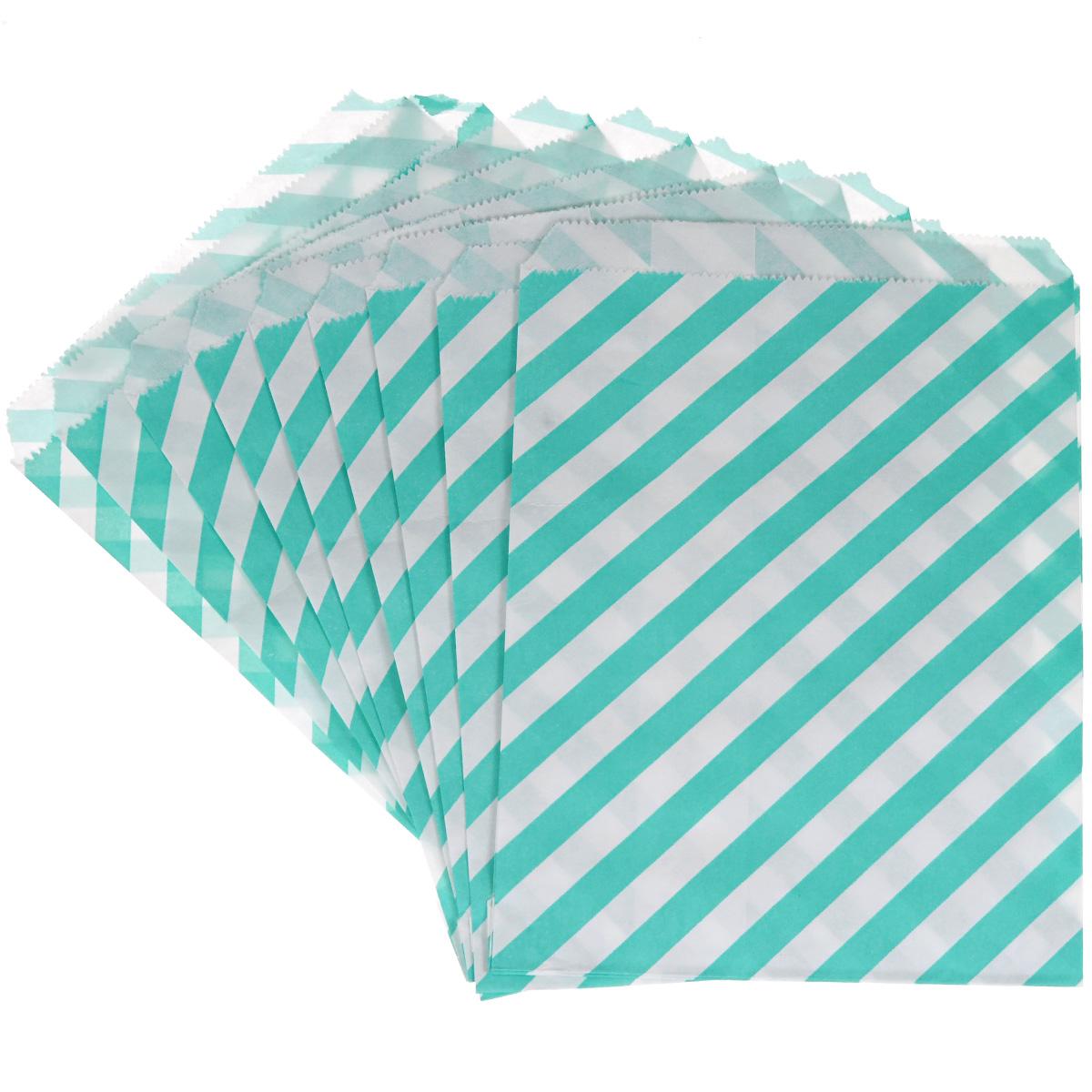 Пакеты бумажные Dolce Arti Rayet, для выпекания, цвет: мятный, 10 штDA040204Бумажные пакеты Dolce Arti Rayet очень многофункциональны. Их можно использовать насколько хватит вашей фантазии: для выпекания, для упаковки маленьких подарков, сладостей и многого другого. Размер: 13 см х 18 см.
