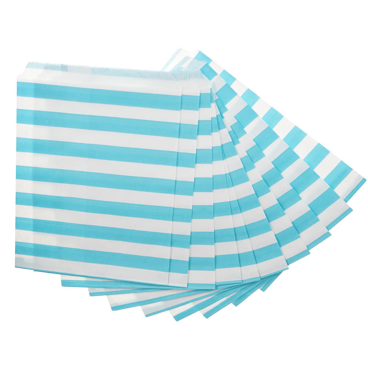 Пакеты бумажные Dolce Arti Stripes, для выпечки, цвет: голубой, 10 штDA040218Бумажные пакеты Dolce Arti Stripes очень многофункциональны. Их можно использовать насколько хватит вашей фантазии: для выпекания, для упаковки маленьких подарков, сладостей и многого другого. Размер: 13 см х 18 см.