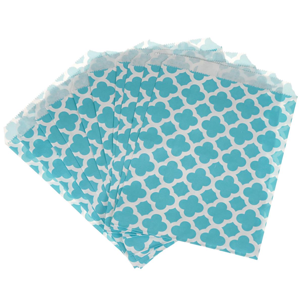 Пакеты бумажные Dolce Arti Arabesque, для выпекания, цвет: голубой, 10 штDA040210Бумажные пакеты Dolce Arti Arabesque очень многофункциональны. Их можно использовать насколько хватит вашей фантазии: для выпекания, для упаковки маленьких подарков, сладостей и многого другого. Размер: 13 см х 18 см.