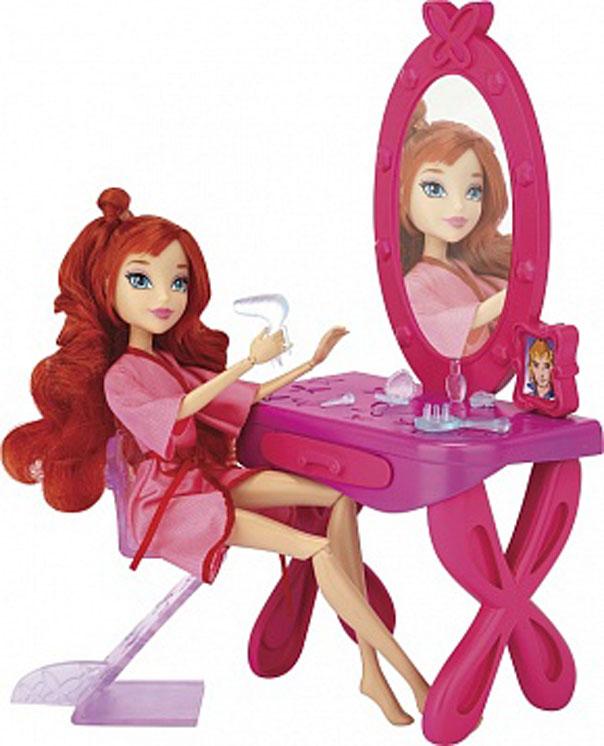 Игровой набор Winx Club Волшебная комната42439Новый игровой набор Winx! В наборе кукла Блум, туалетный столик, стул и множество аксессуаров