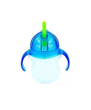 Поильник Click Lock с трубочкой и с ручками 207 мл. 6+, цвет: голубой