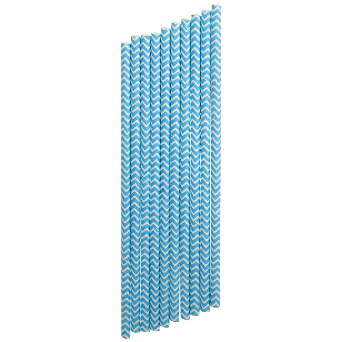 Набор бумажных трубочек Dolce Arti Шеврон, цвет: синий, 10 штDA040243Набор Dolce Arti Шеврон состоит из 10 бумажных трубочек, предназначенных для напитков. Цветные трубочки станут не только эффектным украшением коктейлей, но и ярким штрихом вашего сладкого стола. С набором Dolce Arti Шеврон ваш праздник станет по-настоящему красочным! Длина трубочки: 19,5 см. Диаметр трубочки: 5 мм.