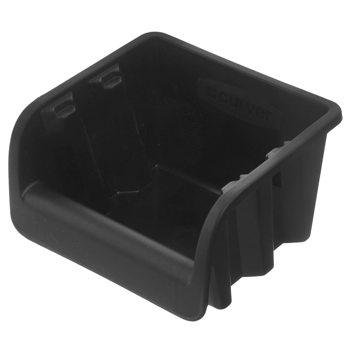 Емкость складская Curver Profi №1, цвет: черный, 11 см х 11,5 см х 7,7 см04951-101-00Емкость Curver Profi №1 выполнена из высококачественного пластика и предназначена для хранения различных складских мелочей, таких как гвозди, болты, гайки. Удобная конструкция изделия позволяет без труда достать из емкости нужную вещь. Емкость Curver Profi №1 будет незаменимой дома, на даче или в гараже.