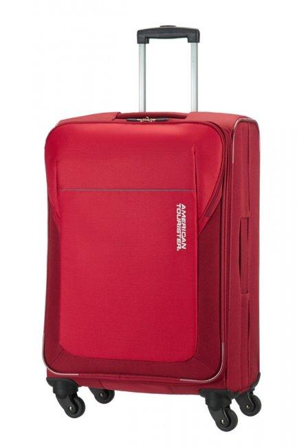 Чемодан American Tourister SAN FRANCISCO, 61 л, 84A*00003 красный84A*00003Особенности: ручка внизу; мягкий