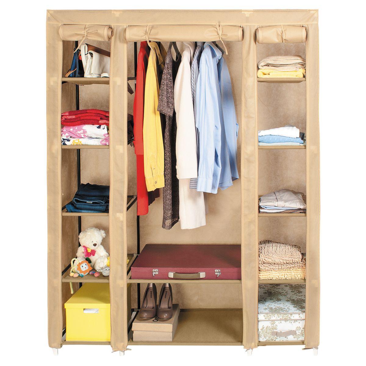"""Шкаф для одежды Artmoon """"Montreal"""", цвет: бежевый, 135 х 45 х 175 см, Art Moon / Artmoon"""