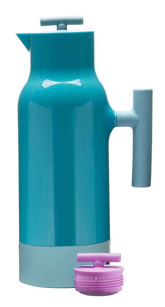 Кофейник-термос Sagaform Accent, цвет: голубой, розовый, 1,1 л5016716Кофейник-термос с узким горлом Sagaform Accent выполнен из прочного цветного пластика со стеклянной колбой. Кофейник очень прост в использовании и очень функционален. Оснащен двумя герметичными пластиковыми крышками разных цветов. Легкий и прочный термос-кофейник Sagaform Accent сохранит ваши напитки горячими или холодными надолго. Высота (с учетом крышки): 31 см. Диаметр горлышка: 2,5 см.