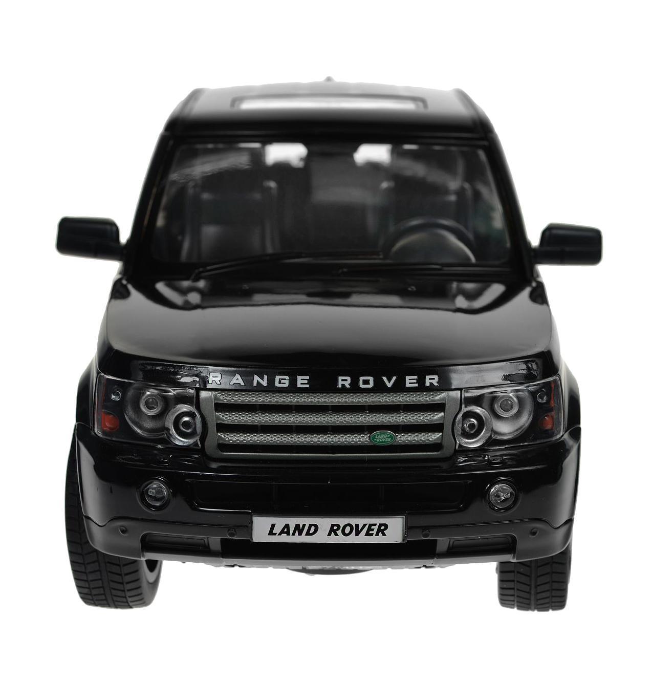 Rastar Радиоуправляемая модель Range Rover Sport цвет черный масштаб 1:1428200