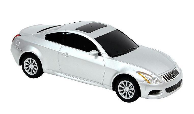 Rastar Радиоуправляемая модель Infinity G37 Coupe цвет серебристый масштаб 1:2427900