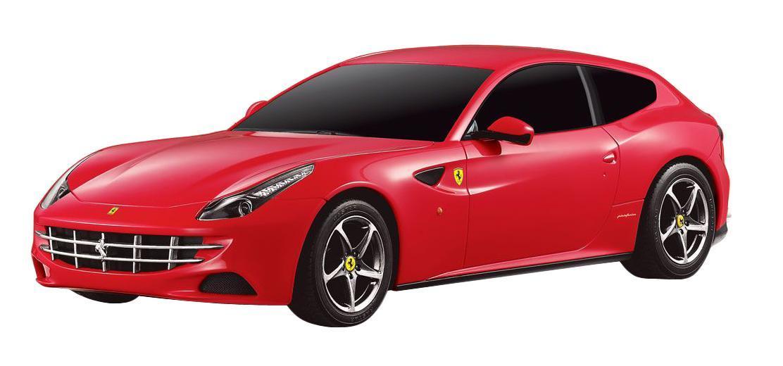 Радиоуправляемая модель Ferrari FF, цвет: красный. Масштаб 1/2446700 красный