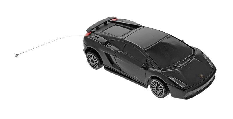 Rastar Радиоуправляемая модель Lamborghini цвет черный масштаб 1:4129000Маленький гонщик, несомненно, обрадуется подарку в виде шикарной радиоуправляемой машины. Ребенок вмиг разберется с управлением, пульт довольно прост в освоении, после чего сразу же устроит пробный заезд, а после тестового испытания начнет выжимать из мотора этого стального скакуна максимальную скорость.