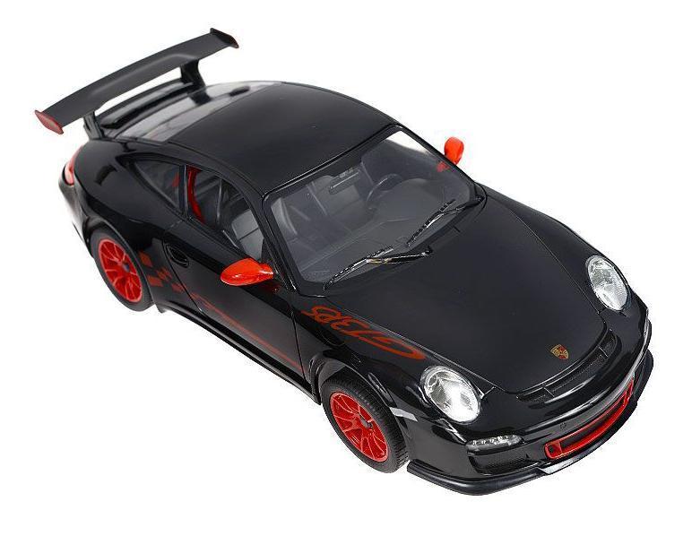 Радиоуправляемая модель Rastar Porsche 911 GT3 RS, цвет: черный. Масштаб 1/14Радиоуправляемая модель Rastar Porsche 911 GT3 RS, цвет: черный. Масштаб 1/1442800Радиоуправляемая машинка Porsche 911 GT3 RS представляет собой точную копию автомобиля известной марки, выполненную в масштабе 1:14 от оригинала. Радиоуправляемая машинка Porsche 911 GT3 RS обладает неповторимым стилем и спортивным характером. Машинка Porsche 911 GT3 RS сделана из качественного пластика с проработкой всех внутренних и внешних деталей. Автомобилем легко управлять с помощью удобного пульта. Машинка очень маневренная и двигается со скоростью до 12км/ч на расстоянии до 40 метров от пульта управления. Машинка Porsche 911 GT3 RS может двигаться вперед, назад, вправо и влево. При движении вперед - горят передние фары, при движении назад - горят задние стоп-сигналы. Варианты расцветки машинки: оранжевый, белый и черный.