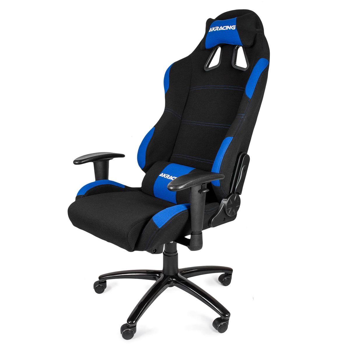 AK Racing Gaming, Black Blue игровое кресло - Интернет-магазин винтажных вещей