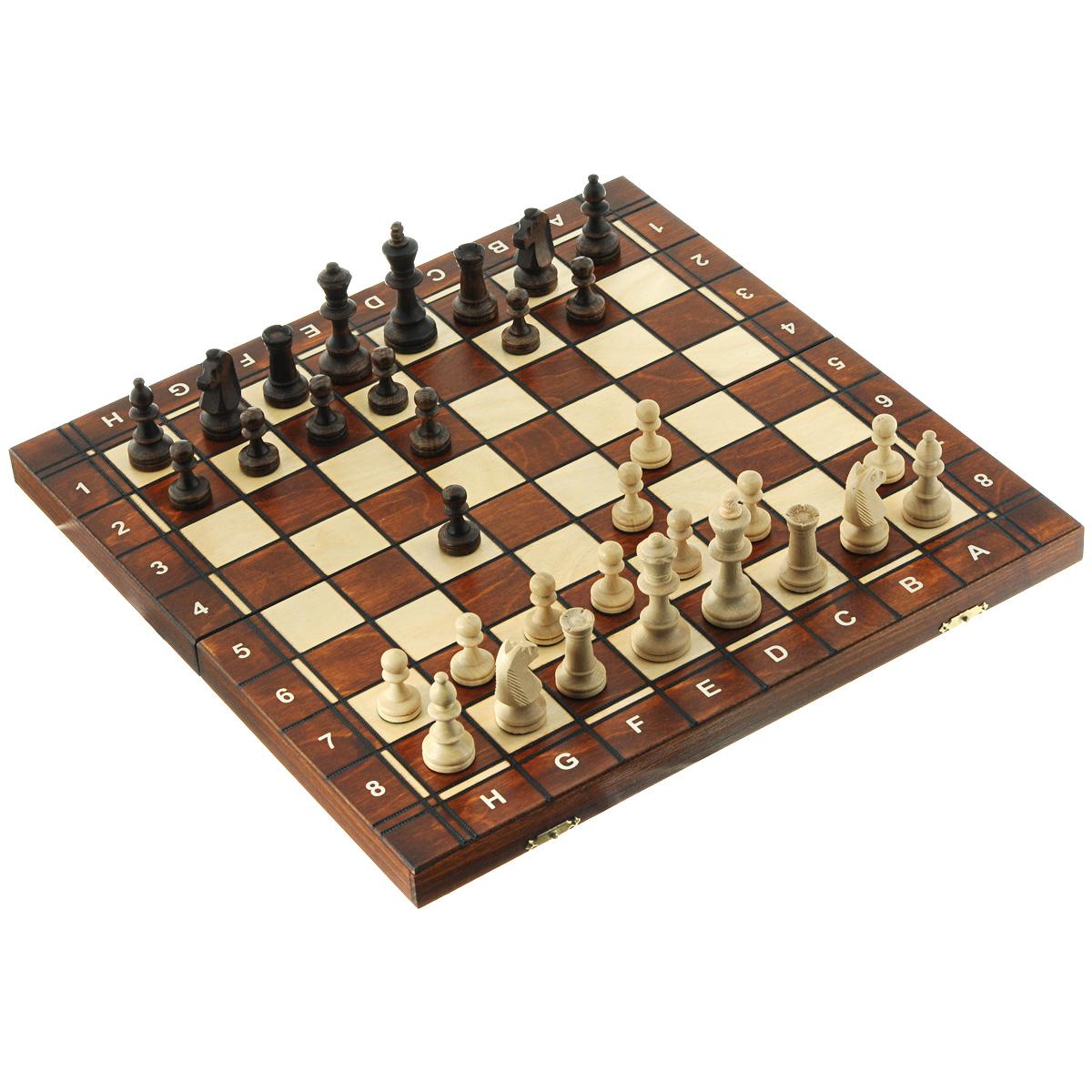 Игровой набор Wegiel Сенатор 3в1: шахматы, шашки, нарды, размер: 42х21х5 см. 30213021