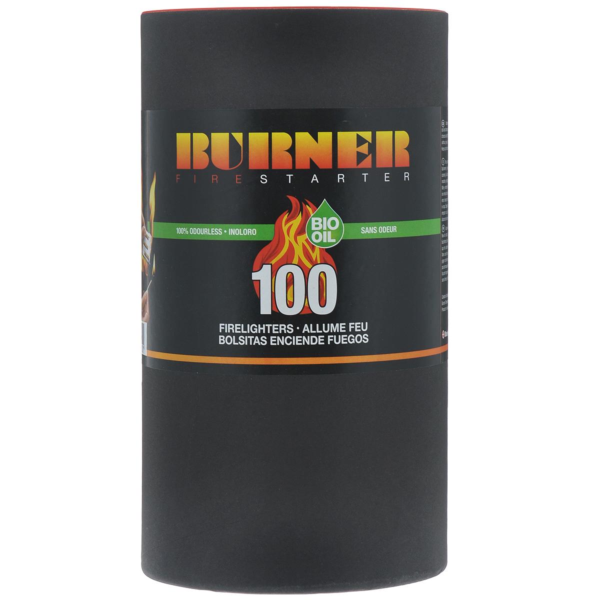 Средство для розжига Burner, в бочонке, 100 пакетов23100Розжиг Burner экологически безопасен, удобен в хранении и перевозке - никакой грязи и запахов. Идеальное средство для розжига мангалов, каминов, печей и костров. Кроме того, розжиг Burner не боится сырости и поэтому идеален в походе, на рыбалке, охоте, и в других достаточно экстремальных условиях, когда необходимо разжечь костер для обогрева или приготовления пищи. В комплект входит 100 пакетиков для розжига. Состав: высококачественные N-парафины, растительные масла.
