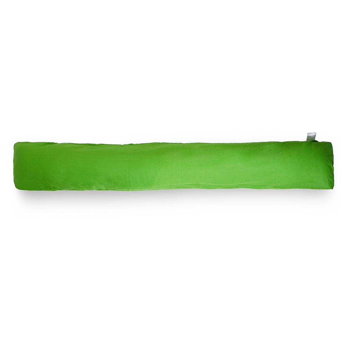 БИО-Подушка для всего тела I maxi, чехол: зеленыйPI190K2Био-подушка I 190 - это длинная подушка, размера которой будет достаточно для комфорта высоких людей. Это большая подушка подойдет даже мужчинам. Удобна как длинная подушка для изголовья кровати, подушка- позиционер, большая подушка-обнимашка. Идеальна в качестве оригинального подарка парню или девушке. Мягкий наполнитель из тонкого полиэфирного волокна (микроволокно) гигиеничен и прост в уходе (машинная стирка). Подушка мягкая и комфортная, равномерно наполнена. Вы можете сгибать и скручивать подушку, чтобы принять удобную позу, потом подушка вернет свою первоначальную форму. Съемный чехол из хлопковой ткани защитит вашу подушку от загрязнений, он легко снимается и одевается, долговечен и прост в уходе. Материал подушки: микрофибра Материал чехла: хлопок