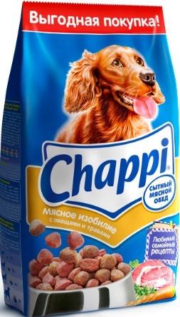 Корм сухой для собак Chappi Сытный мясной обед, мясное изобилие с овощами и травами, 8,5 кг18937Сухой корм Chappi Сытный мясной обед - полнорационный сухой корм для взрослых собак всех пород. Новое меню Chappi - это блюда, приготовленные по любимым семейным рецептам специально для собак. В состав корма входят высококачественные ингредиенты. - Мясо - для силы и энергии в течение дня, - Овощи, травы, злаки - для отличного пищеварения, - Масла и жиры - для блестящей шерсти и здоровой кожи, - Кальций - для крепких зубов и костей, - Витамины - для защиты здоровья, - Минералы - для поддержания собаки в оптимальной форме. Не содержит ароматизаторов и усилителей вкуса. Состав: злаки, мясо и субпродукты, жиры животного происхождения, морковь, люцерна, растительные масла, минеральные вещества, витамины. Пищевая ценность (100 г): белок 18 г; жир 10 г; клетчатка 7 г; влажность не более 10 г; зола 7 г; кальций 0,8 г; фосфор 0,6 г; витамин А 500 МЕ; витамин D 50 МЕ; витамин Е 8 мг; а также витамины В2, В12, пантотеновая и...