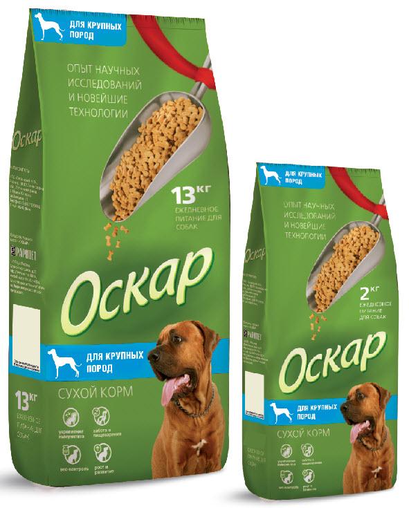 Корм сухой Оскар для собак крупных пород, 13 кг2122Сухой корм Оскар является вкусным и полезным питанием для собак крупных пород. Благодаря специально подобранным компонентам, корм Оскар: - укрепляет и поддерживает иммунную систему; - обеспечивает правильное пищеварение; - способствует росту здоровой, густой и блестящей шерсти; - укрепляет костную систему и суставы; - помогает поддерживать оптимальный вес собаки; - уменьшает образование зубного камня. Корм Оскар изготавливается из натуральных продуктов высшего качества, не содержит красителей и вкусовых добавок, сочетает в себе все необходимые для здоровья и нормального развития вашего любимца витамины и минеральные вещества. Характеристики: Состав: злаки, пшеничные отруби, мясо и продукты животного происхождения, экстракт белка растительного происхождения, минеральные добавки, подсолнечное масло, пульпа сахарной свеклы (жом), витамины, антиоксидант, консервант, глюкозамин. Пищевая ценность: сырой...