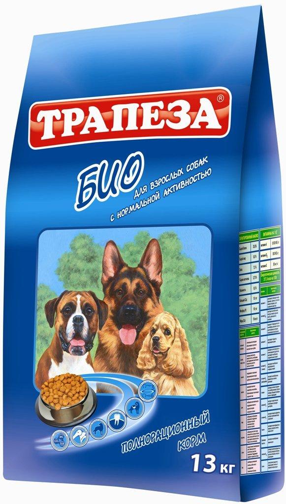 """Корм сухой """"Трапеза Био"""" для собак с нормальной активностью, 13 кг 29600"""