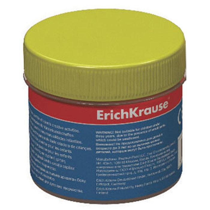 Гуашь Erich Krause, цвет: желтый, 100 мл35122Гуашь Erich Krause откроет дверь в волшебный мир творчества для вашего ребенка. Бочка с гуашью закрывается винтовой крышкой. Краски легко наносятся на бумагу, картон или грунтованный холст. Легко размываются водой и быстро сохнут. Рисование не просто подарит радость вашему малышу, но и поможет ему стать более усидчивым и наблюдательным, развивая способность видеть мир во всех его красках и оттенках.