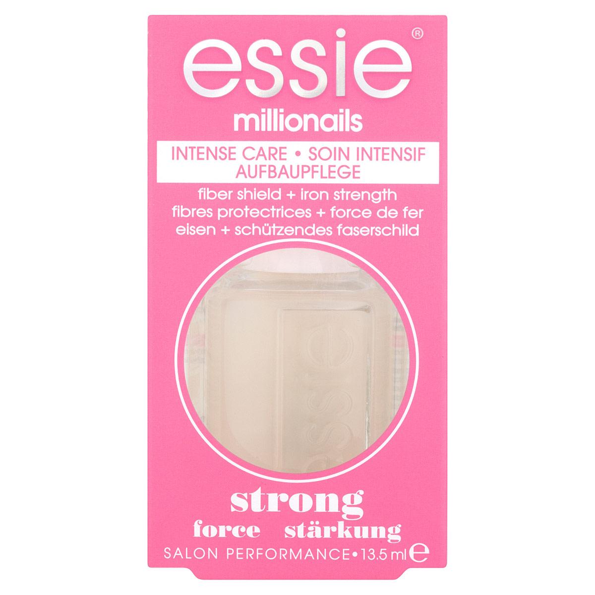 Essie Основа и уход для ногтей Millionails, укрепляющая, 13,5 млB2255602Основа и уход для укрепления Essie Millionails предназначена для мягких и слабых ногтей. Объем: 13,5 мл. Товар сертифицирован.